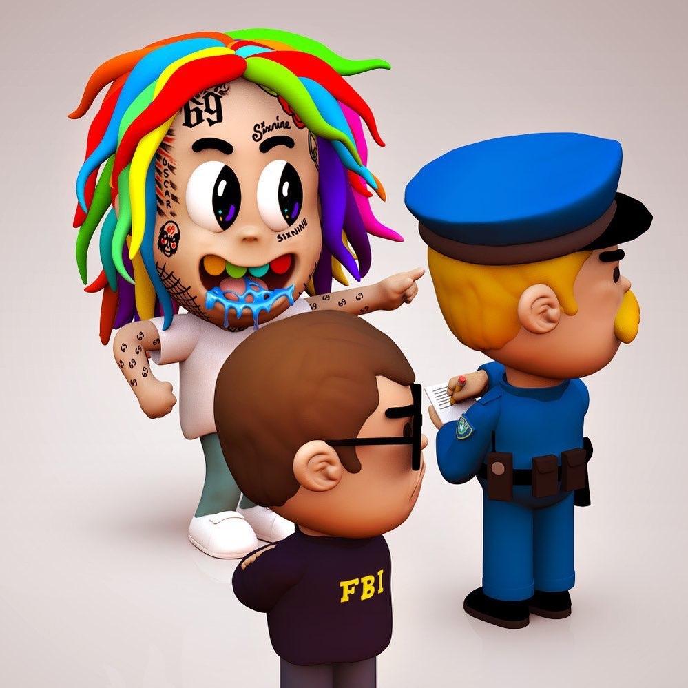 6ix9ine police