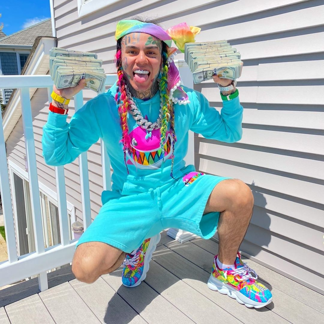 6ix9ine outfit