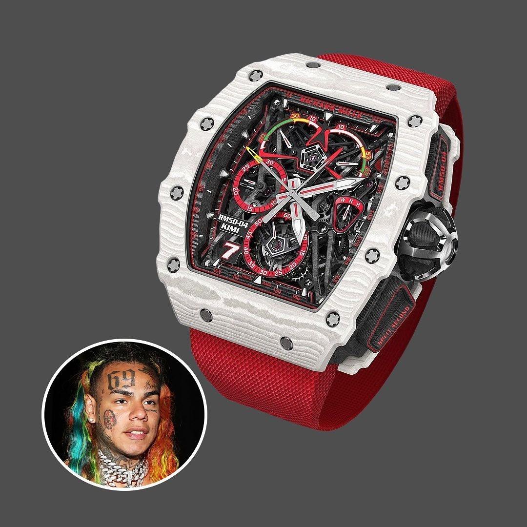 6ix9ine - RICHARD MILLE RM50-04 TOURBILLON