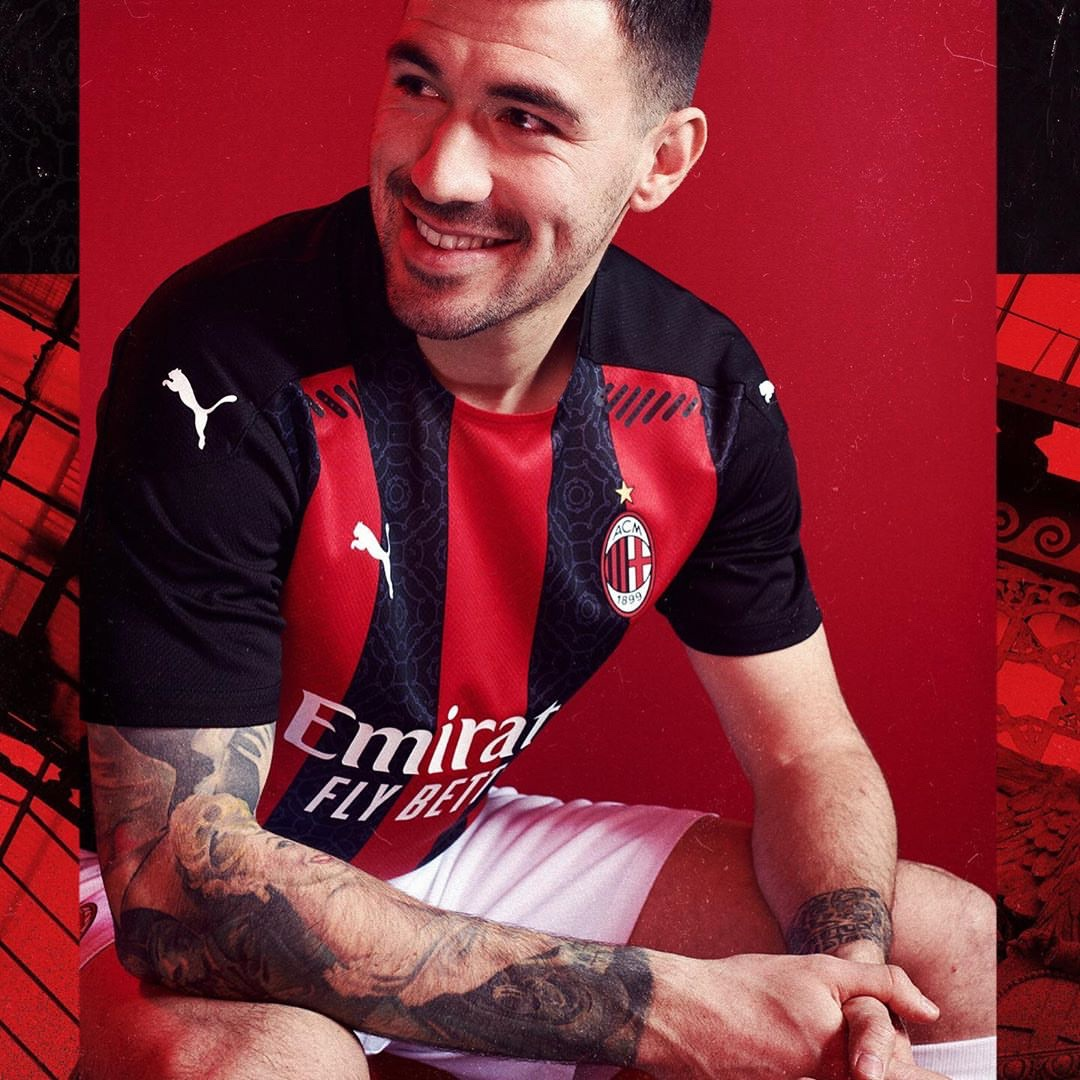 AC Milan Home Kit Puma 2020-2021