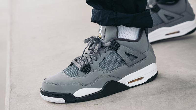 Off-White x AJ4 Cool Gray