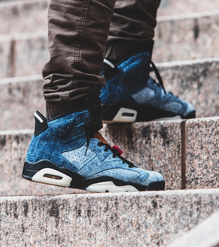"AIR JORDAN 6 ""DENIM"""