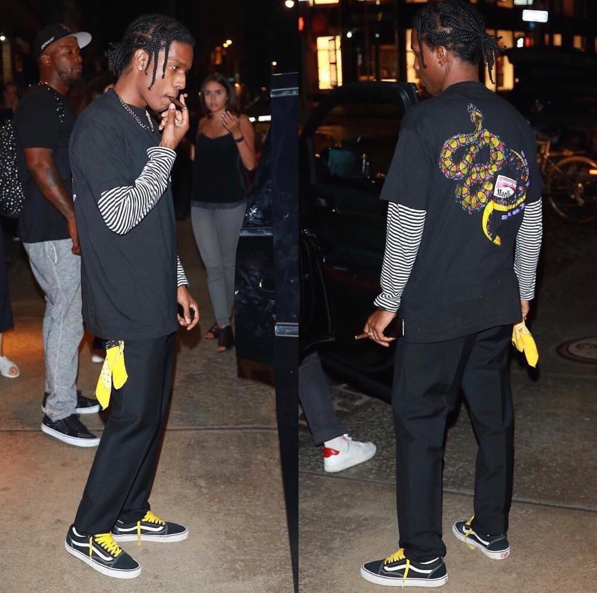 A$AP Rocky Vans
