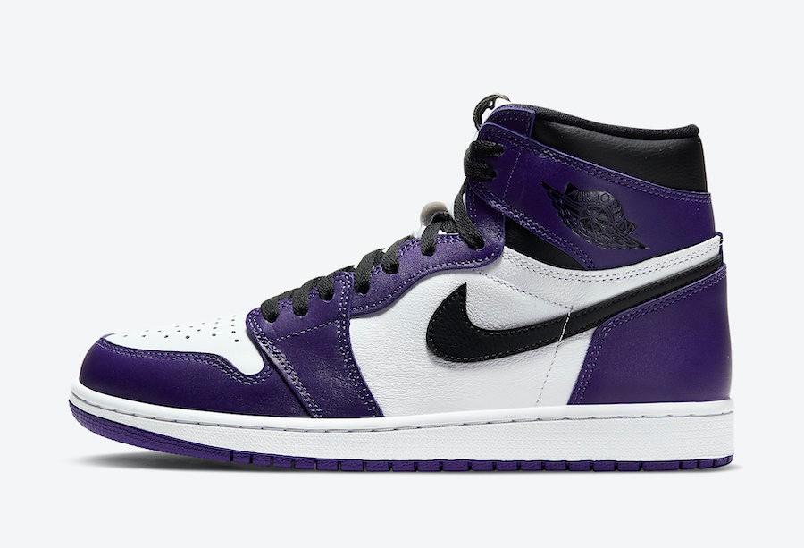 Air Jordan 1 High Court Purple 2.0 Resell