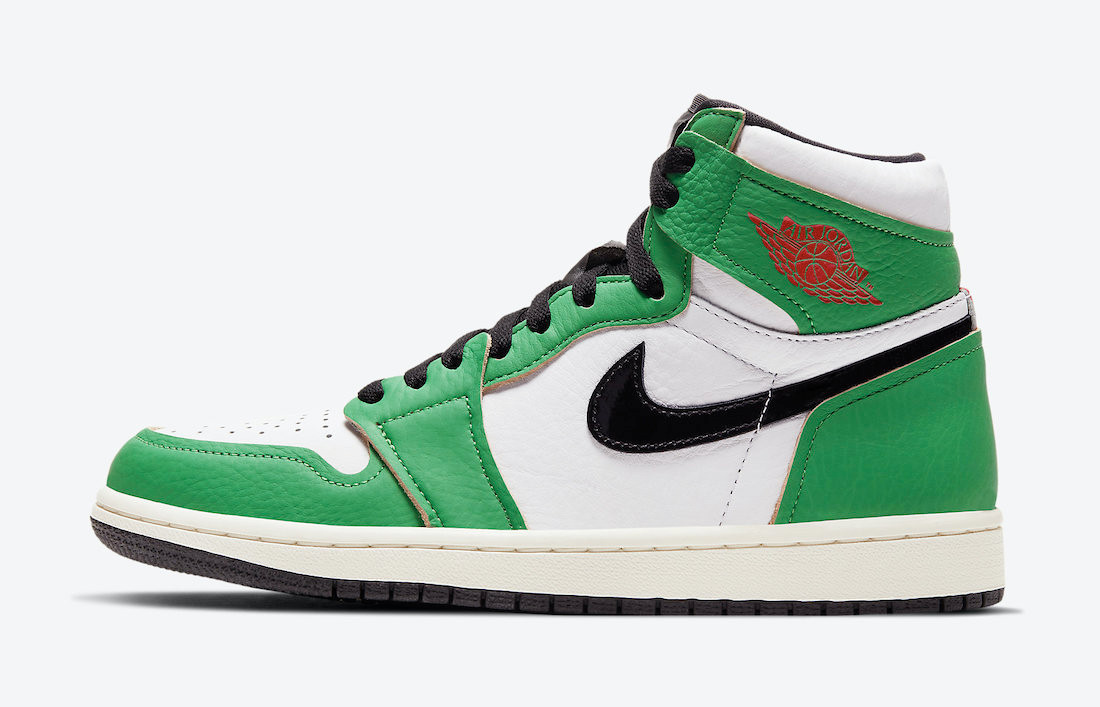 Air Jordan 1 High Lucky Green