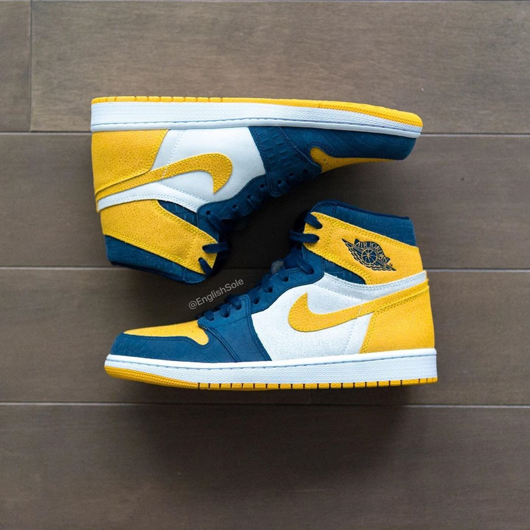 Air Jordan 1 High Michigan PE