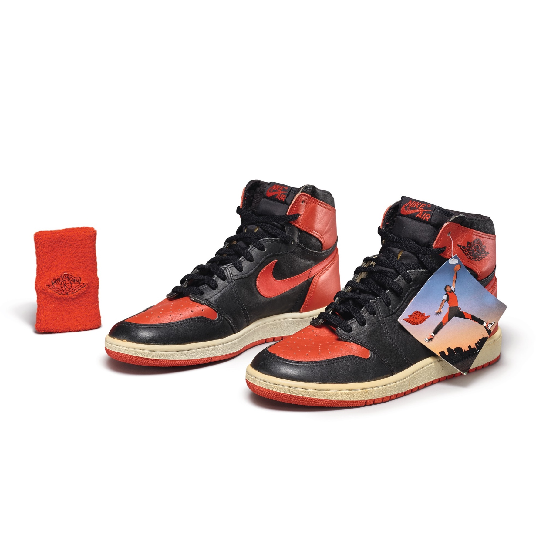 Air Jordan 1 High OG Bred by Peter Moore