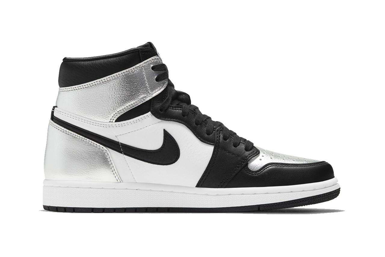 Air Jordan 1 High Silver Toe