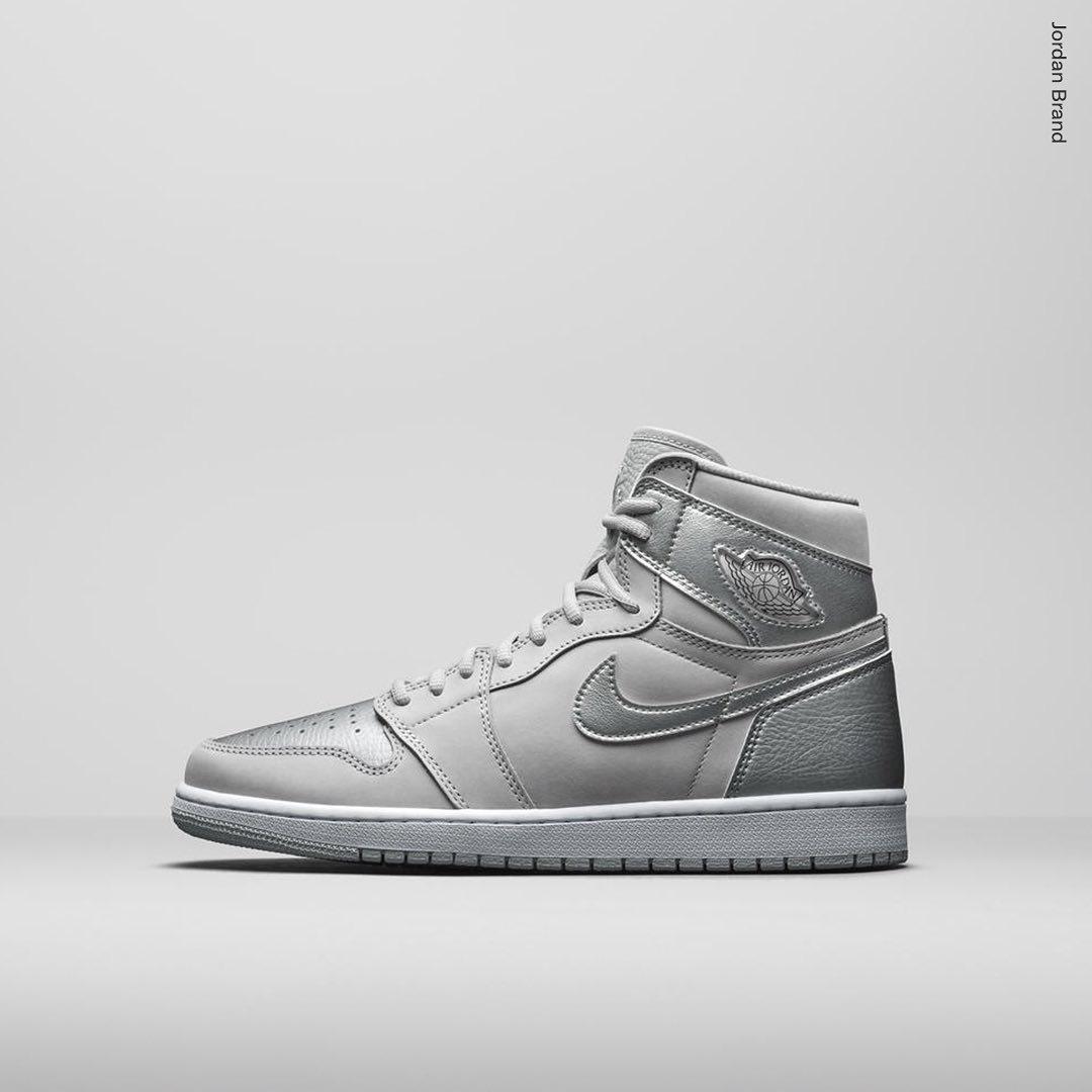 Air Jordan 1 High Silver