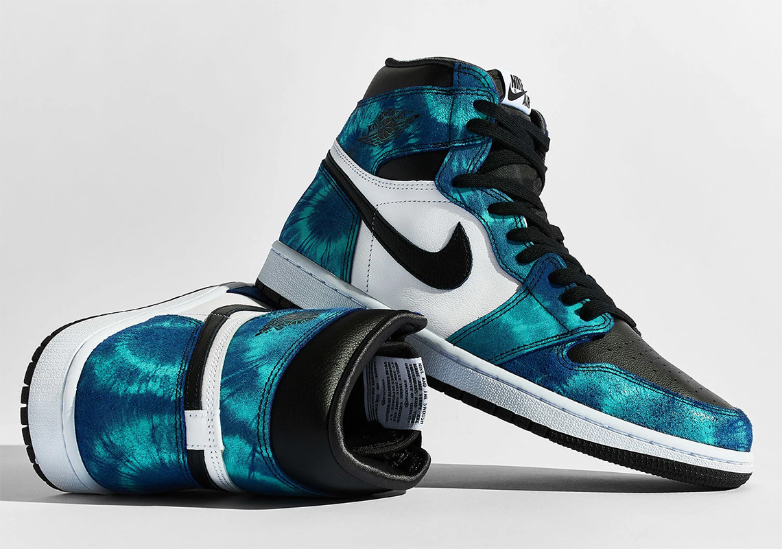 "Air Jordan 1 High ""Tie Dye"""