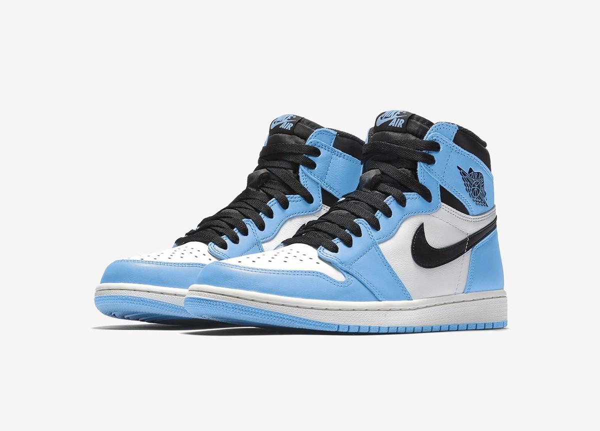 "Air Jordan 1 High ""University Blue"" release date 2021"