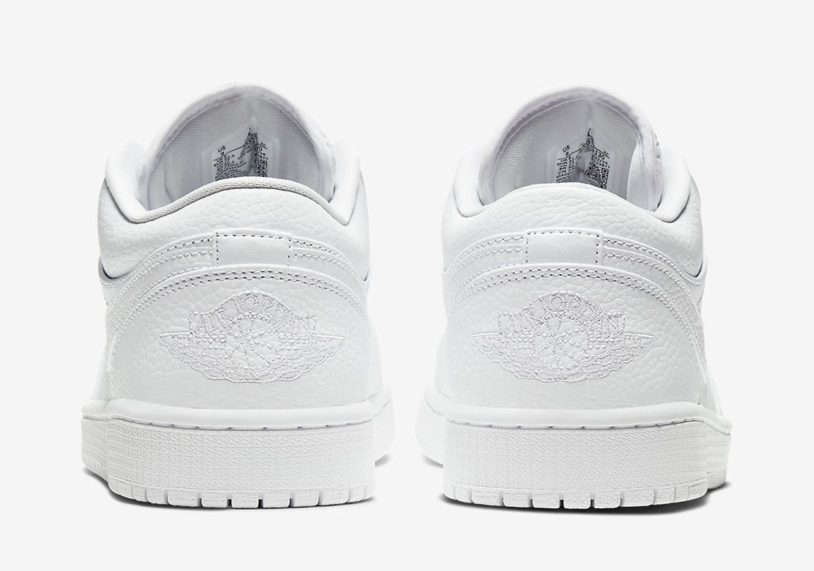 Air Jordan 1 Low Triple White