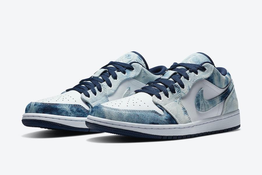"""Air Jordan 1 Low """"Washed Denim"""""""