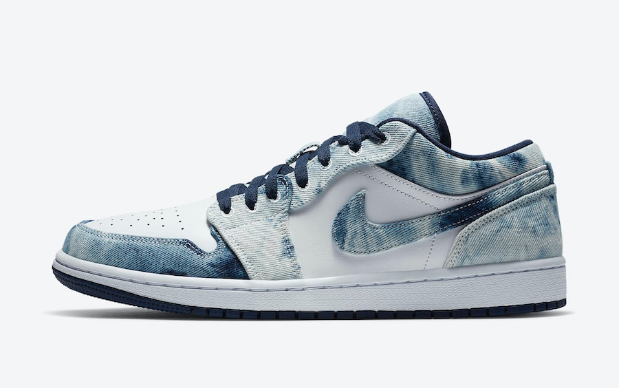 Air Jordan 1 Low Washed Denim