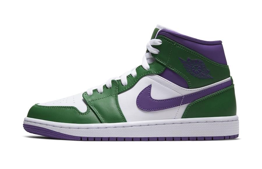 """Air Jordan 1 Mid """"Hulk"""": In arrivo la colorazione dedicata ..."""