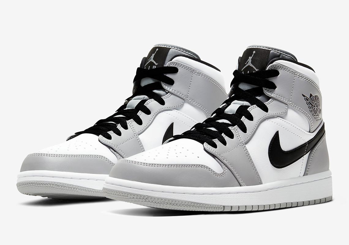 "Air Jordan 1 Mid ""Light Smoke Grey"": La sneaker che ricorda ..."