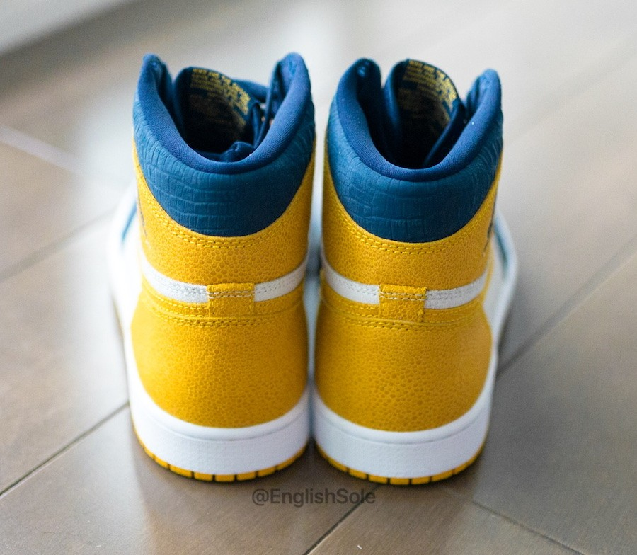 Air Jordan 1 PE Michigan