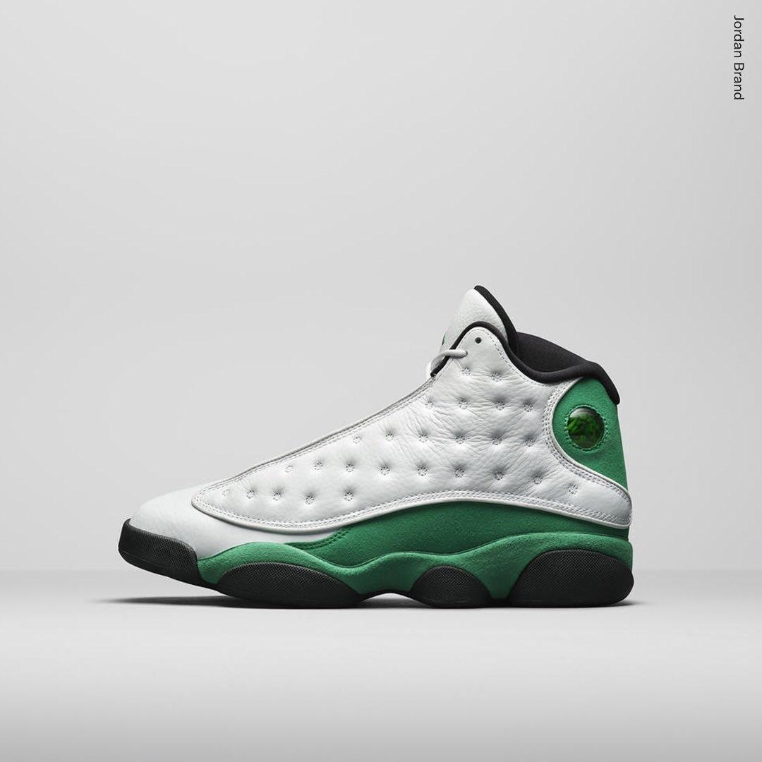Air Jordan 13 Lucky Green