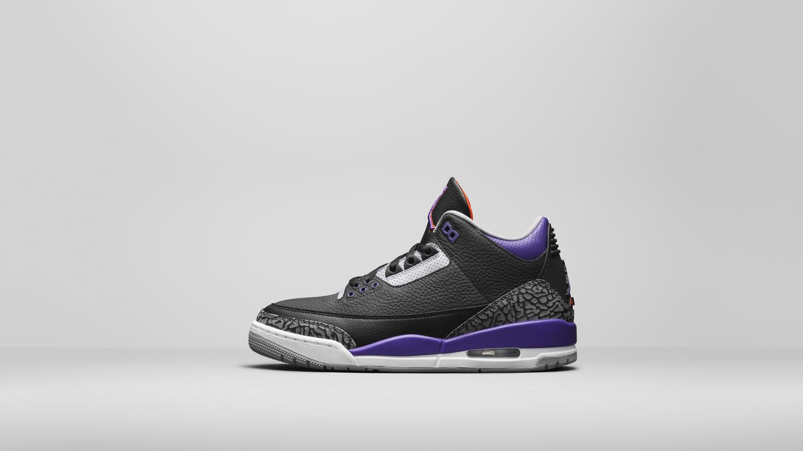 "Air Jordan 3 ""Court Purple"""