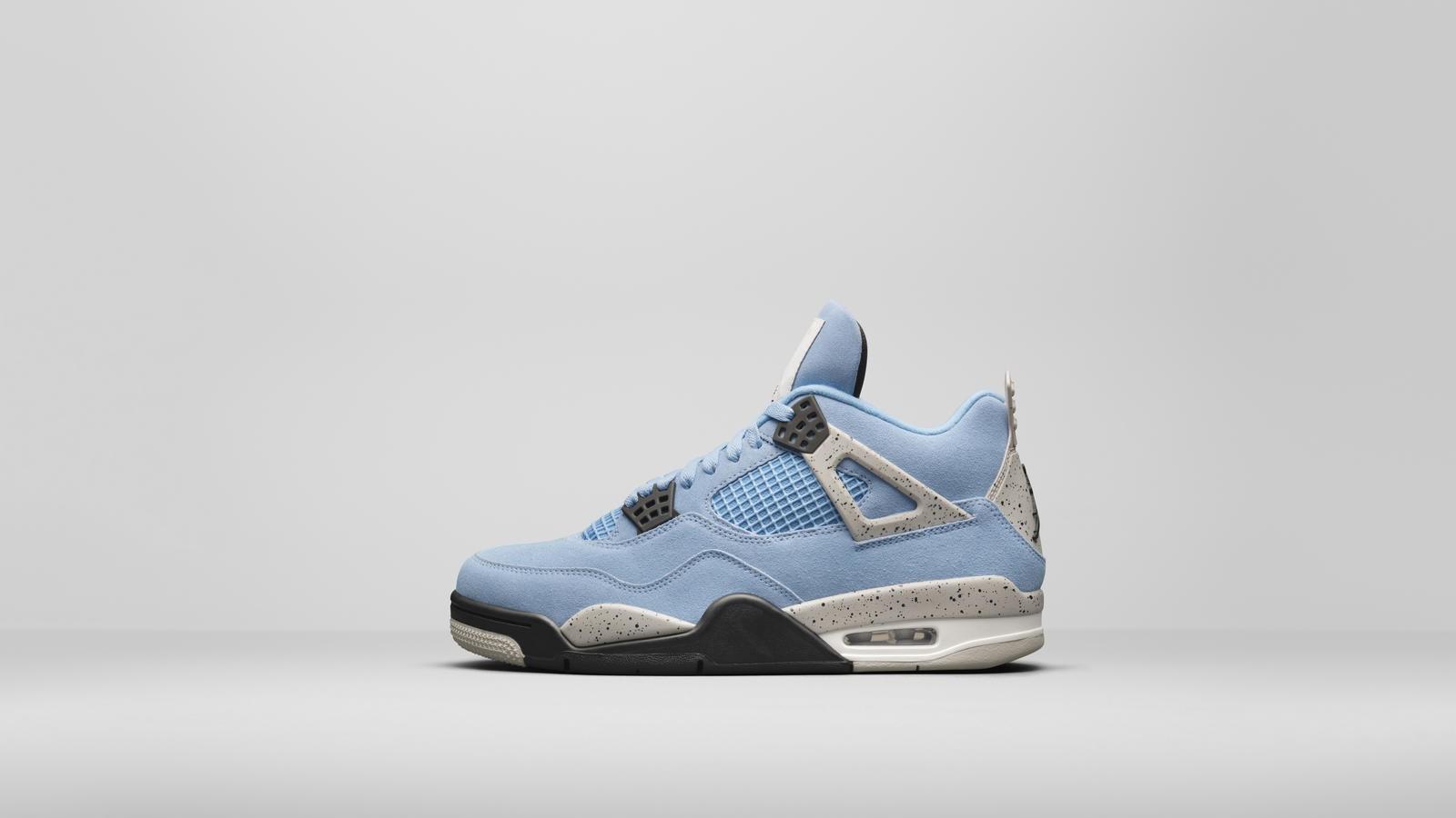 Air Jordan 4 azzurre
