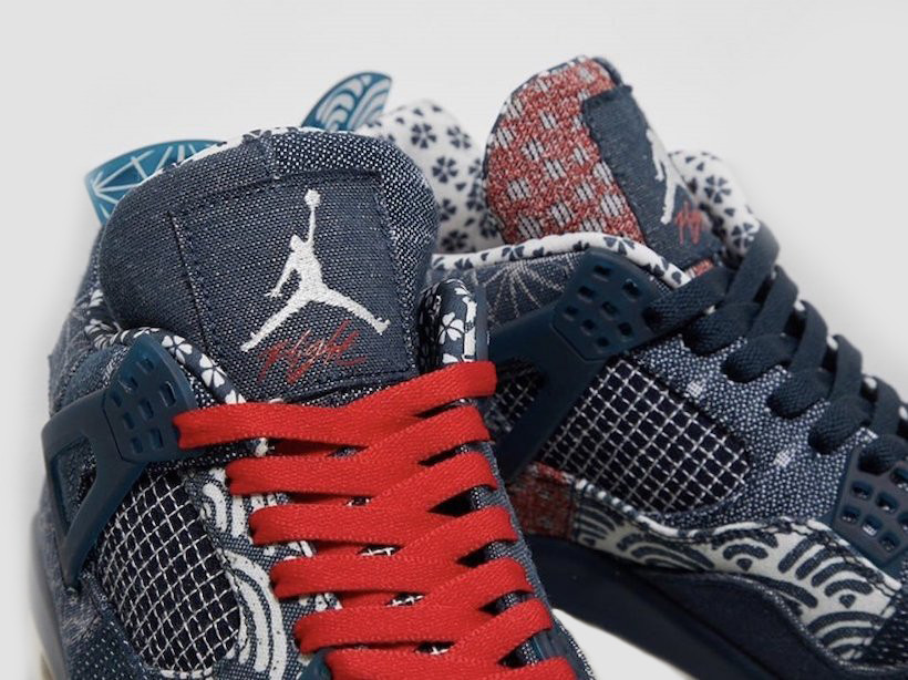Air Jordan 4 Deep Ocean Denim