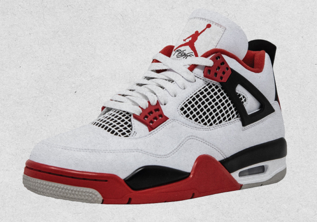 "Air Jordan 4 ""Fire Red"" 2020"