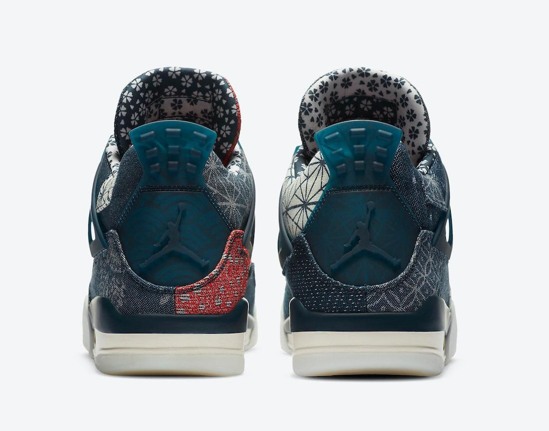 """Air Jordan 4 """"Sashiko"""" denim"""