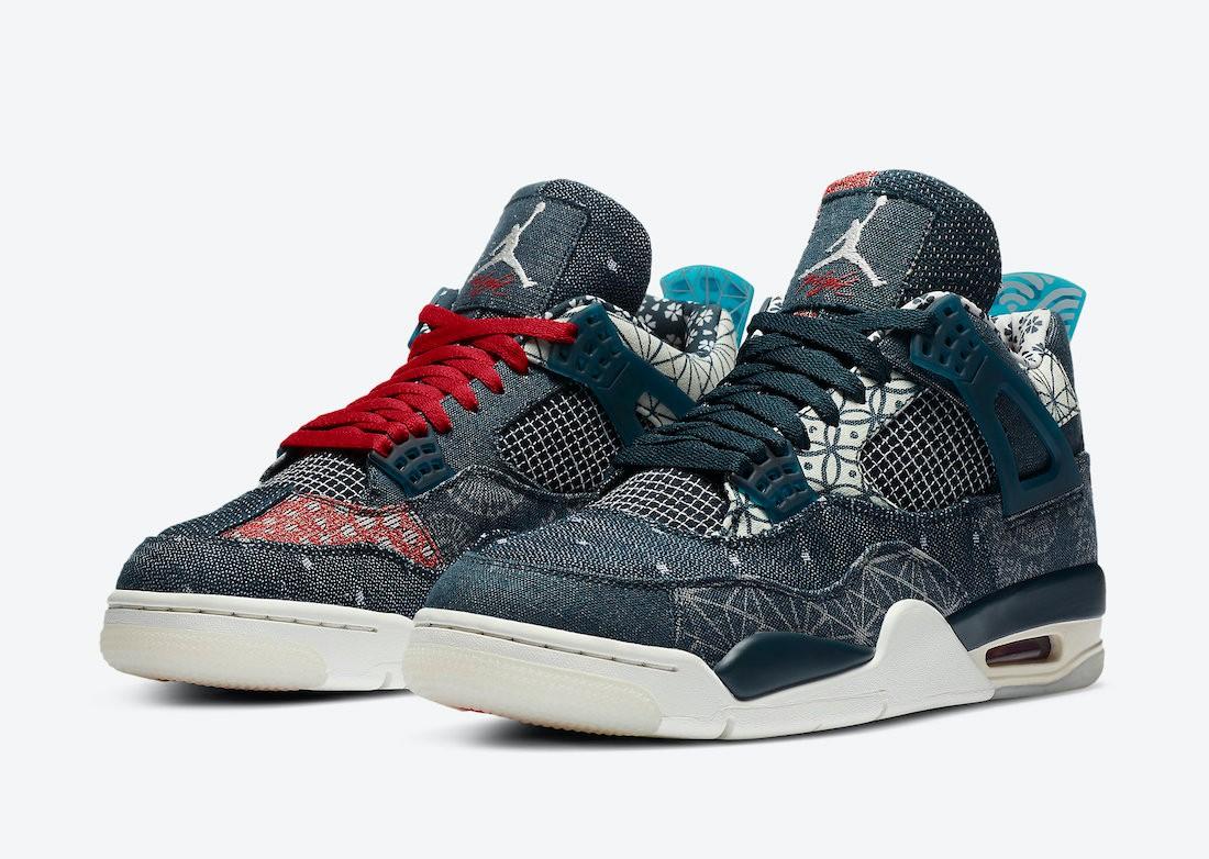 """Air Jordan 4 """"Sashiko"""""""