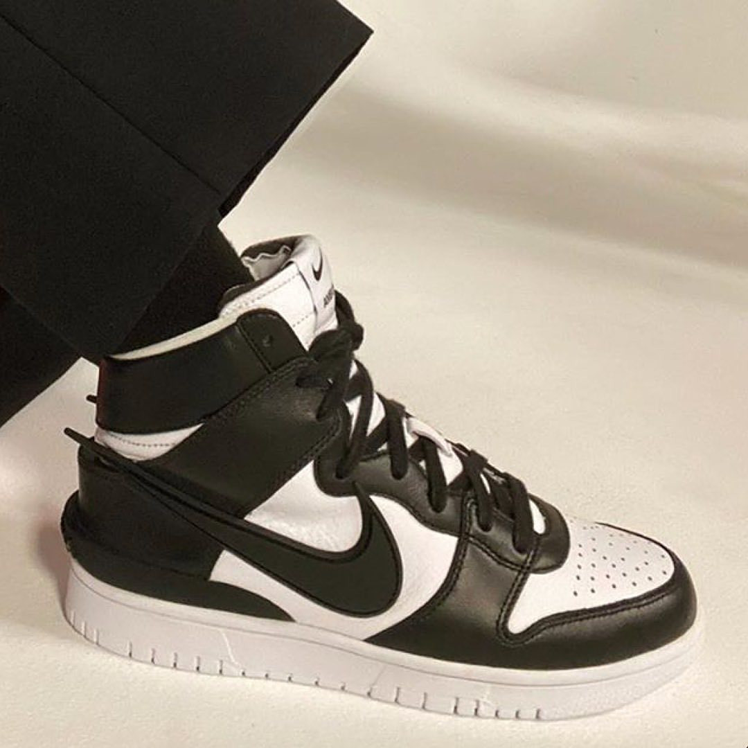"Ambush x Nike Dunk High ""Black/White"