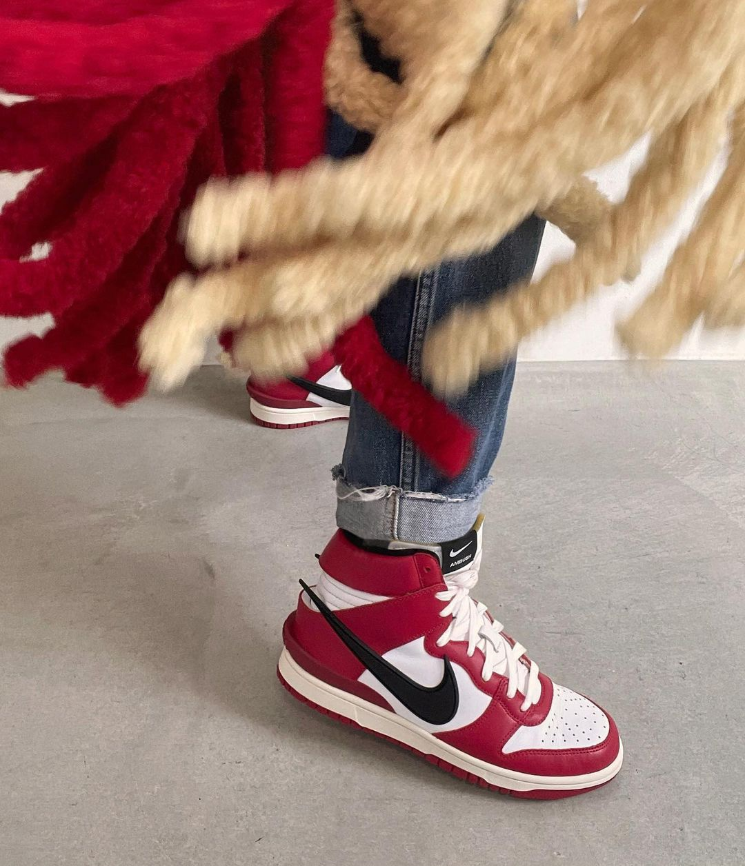 "Ambush x Nike Dunk High ""Chicago"""