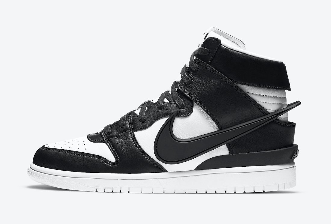 "Ambush x Nike Dunk High ""Black/White"""
