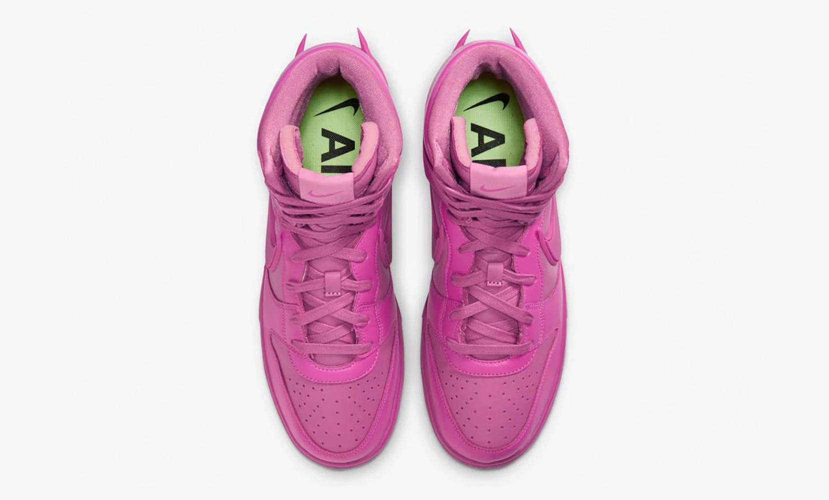 Ambush x Nike Dunk High Lethal Pink