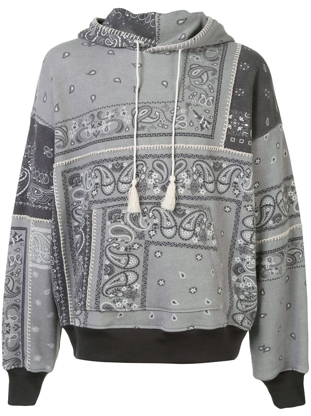 Amiri hoodie paisley