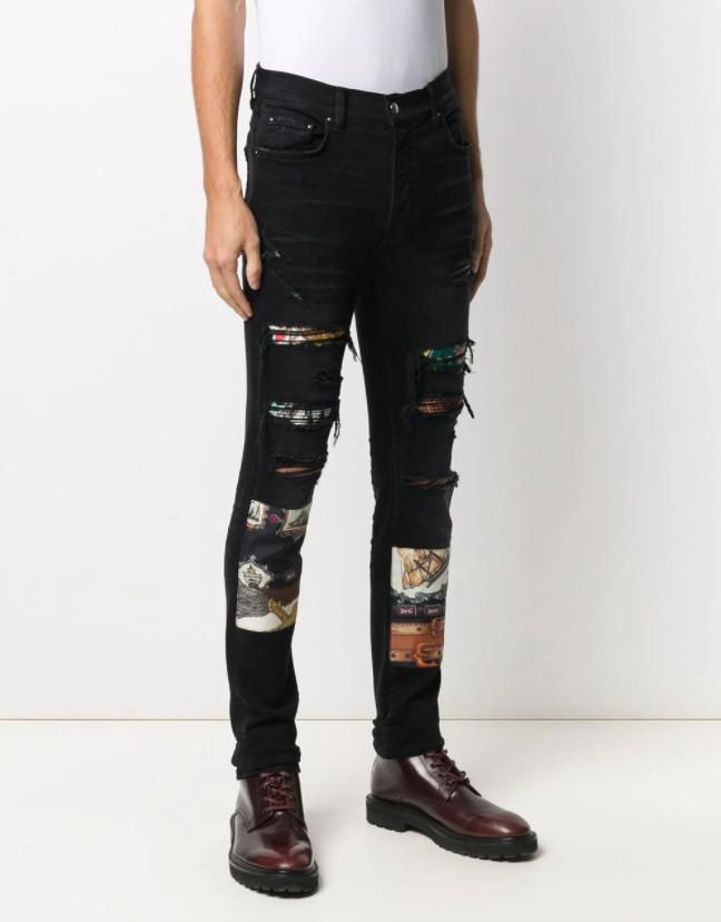 Amiri skinny pant black