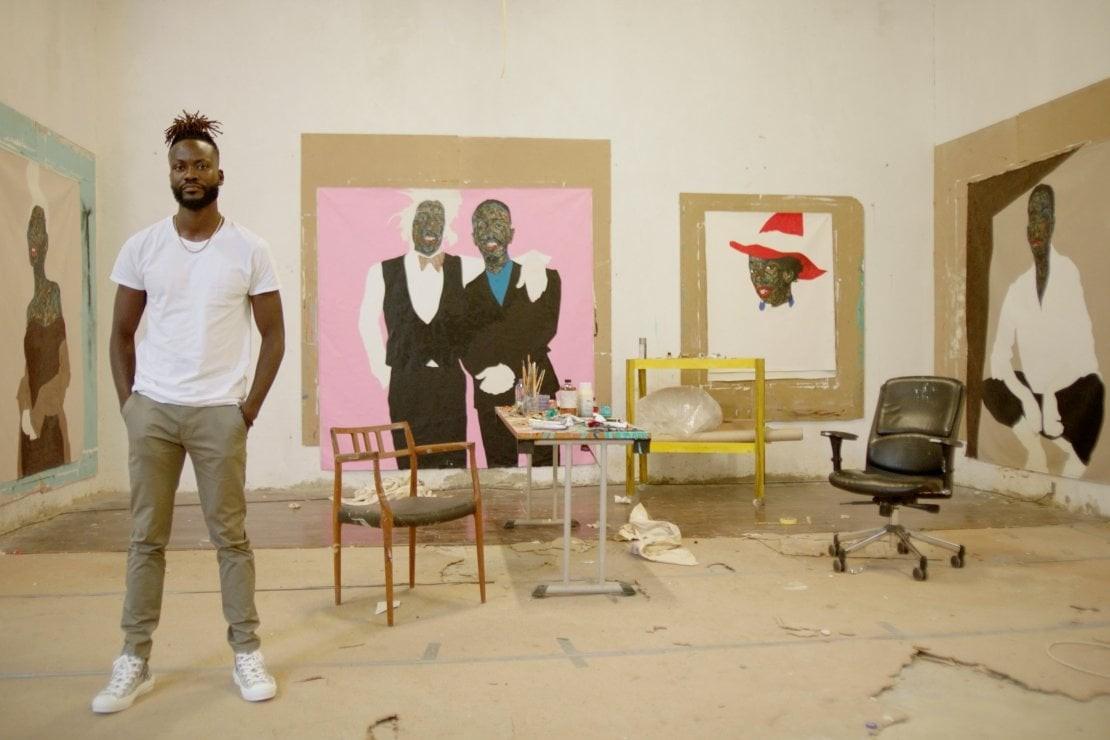 Dior Amoako Boafo studio