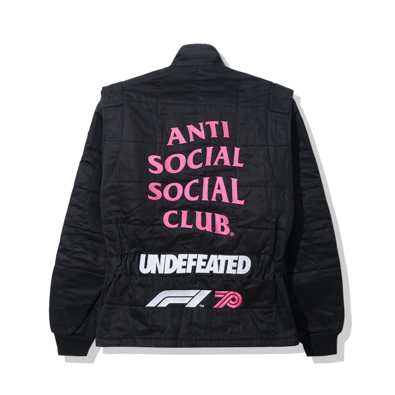 Anti Social Social Club UNDEFEATED Formula 1 giacca Sparco