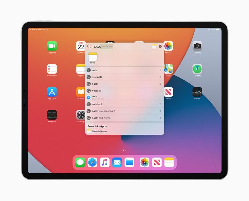 Apple iPadOS 14 dispositivi