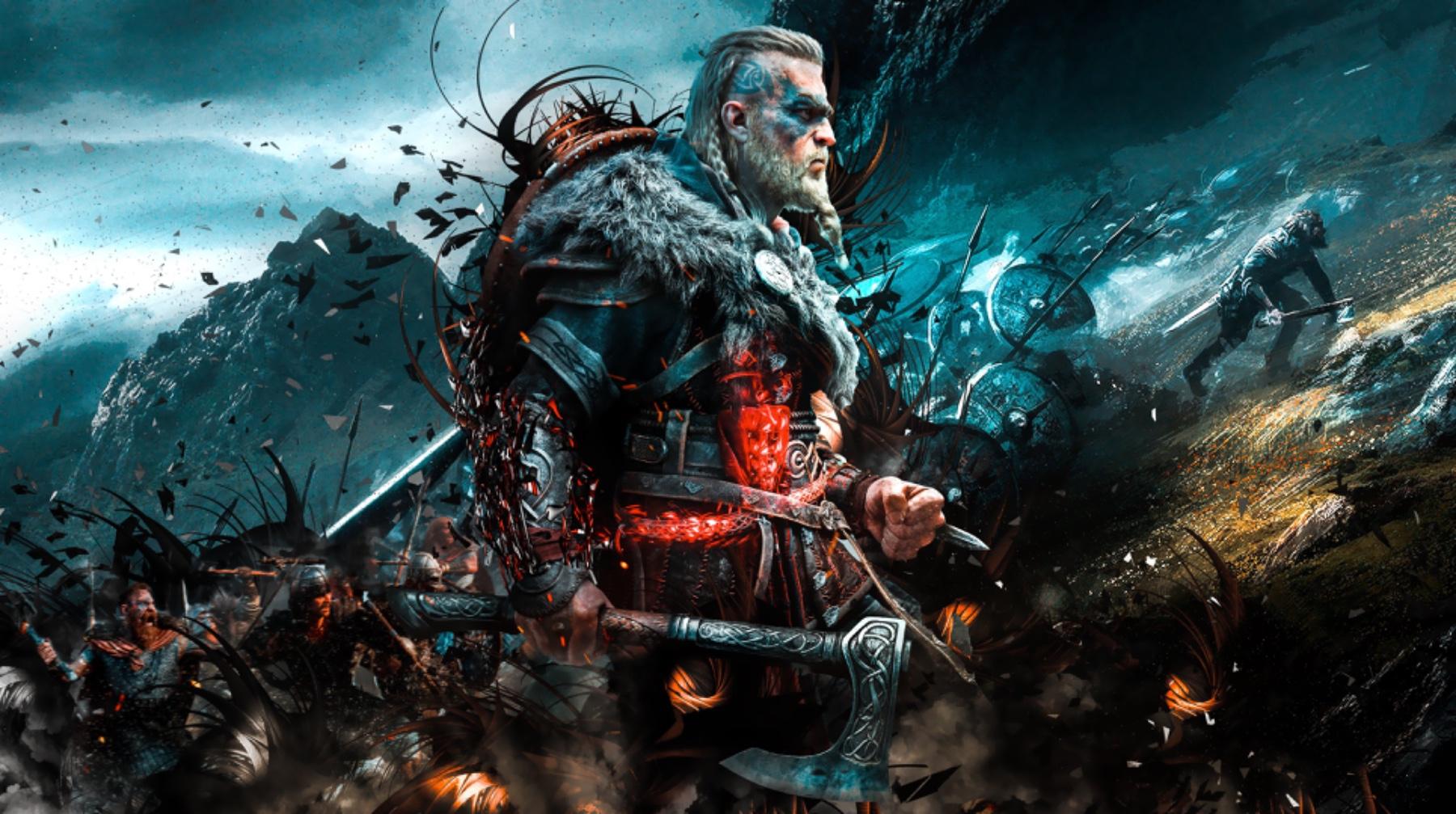 Assassin's Creed: Valhalla vichingo in game