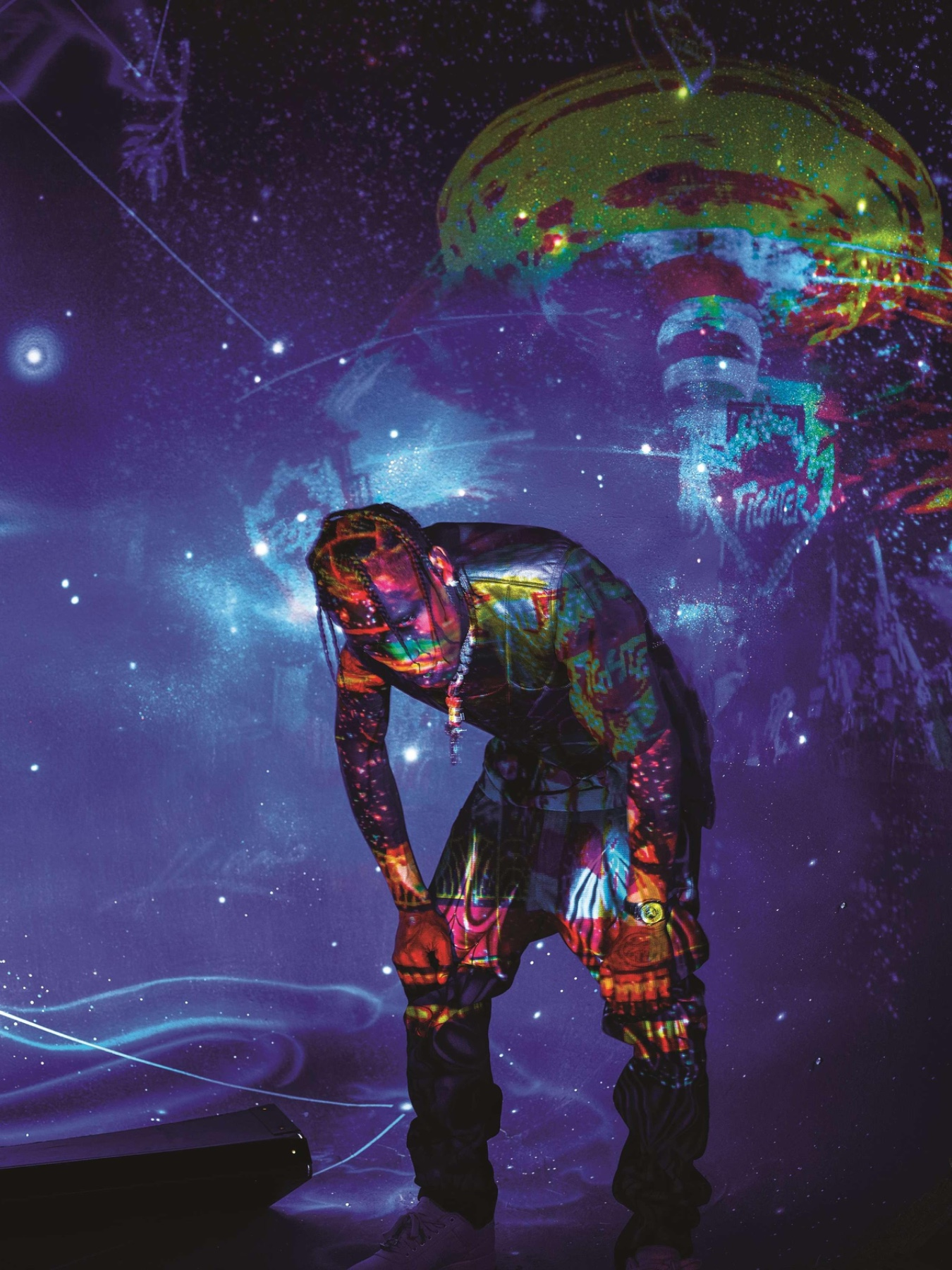 Astronomical concerto Travis Scott x Fortnite