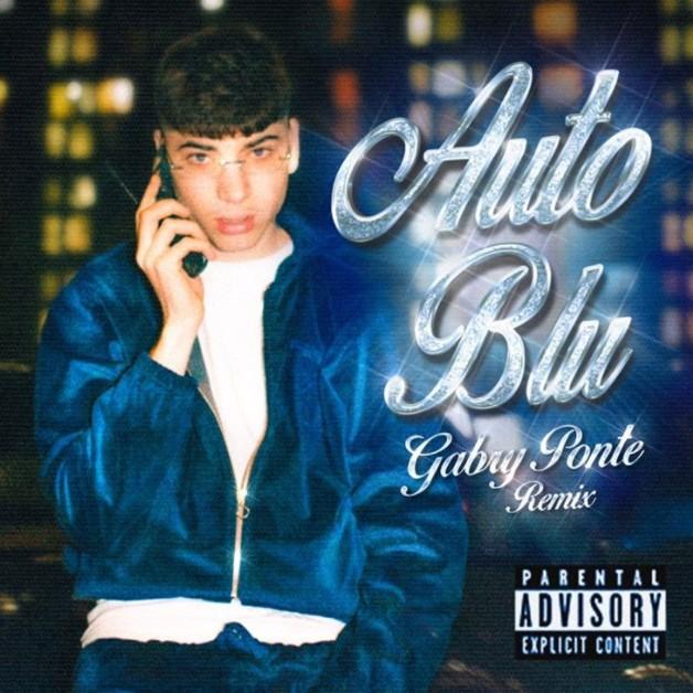 Auto blu shiva