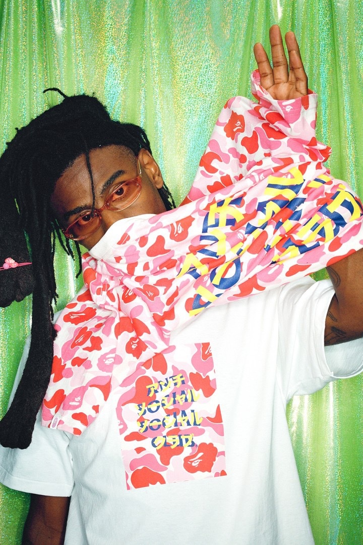 BAPE Anti Social Social Club Fall 2020 pink
