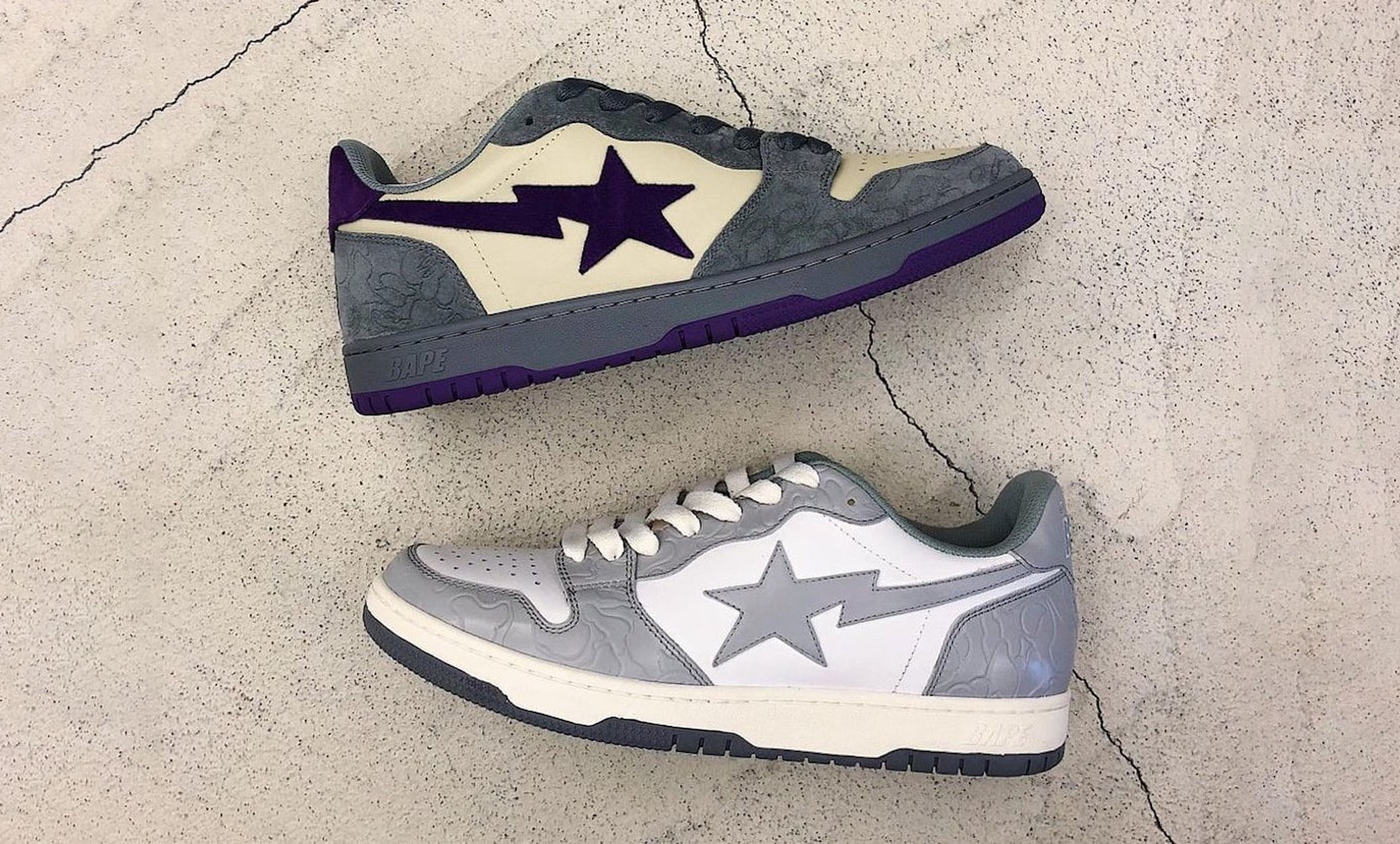 BAPE Court Sta low
