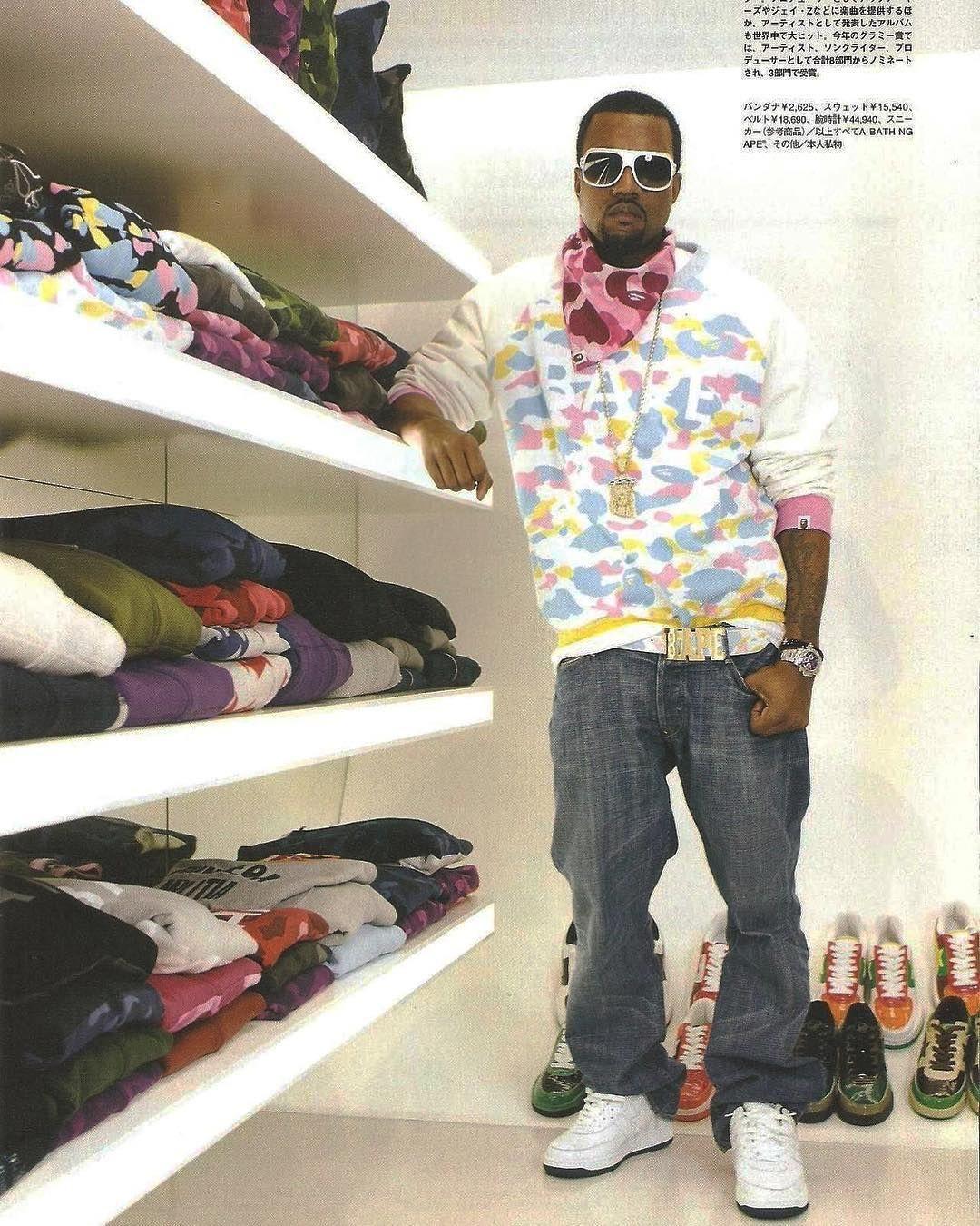 BAPE Kanye West