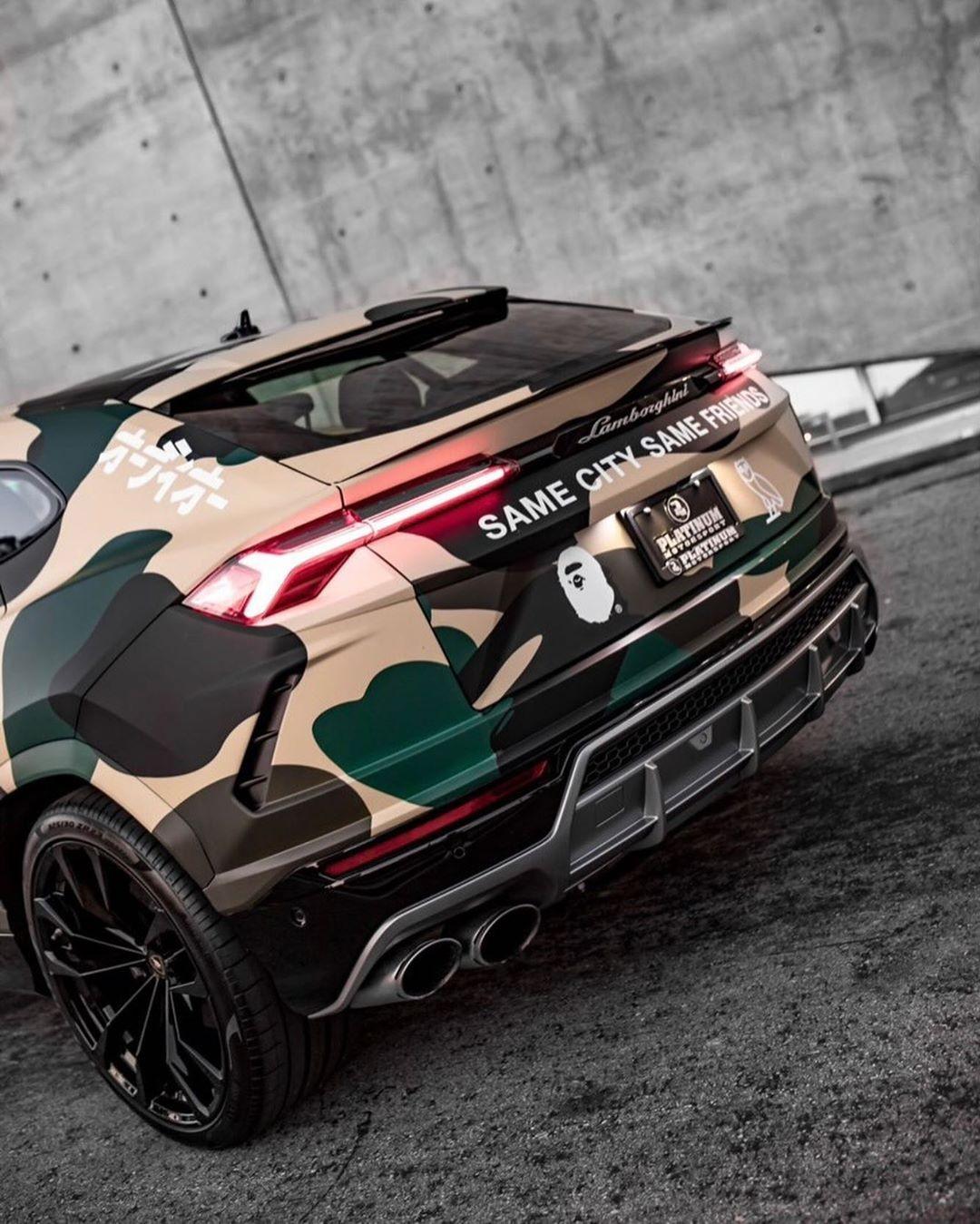BAPE x OVO Porsche Urus