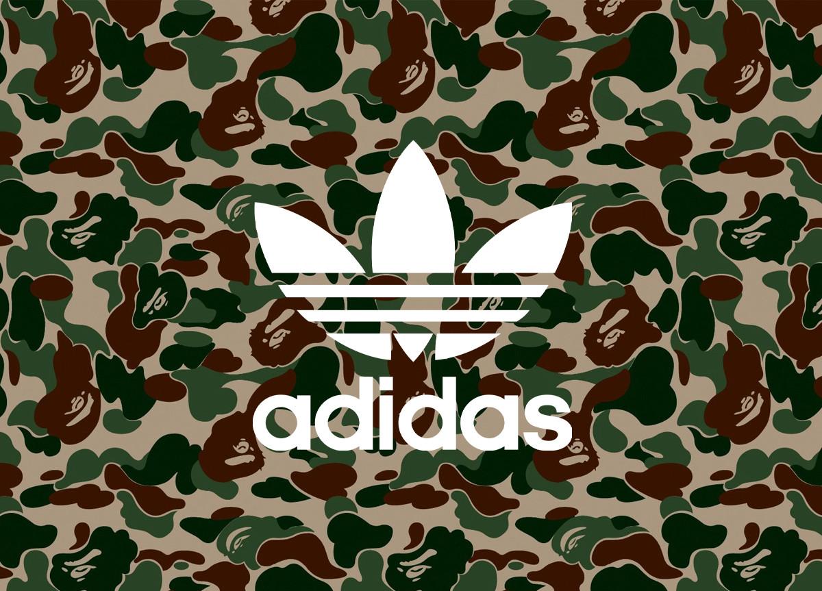 BAPE x adidas logo