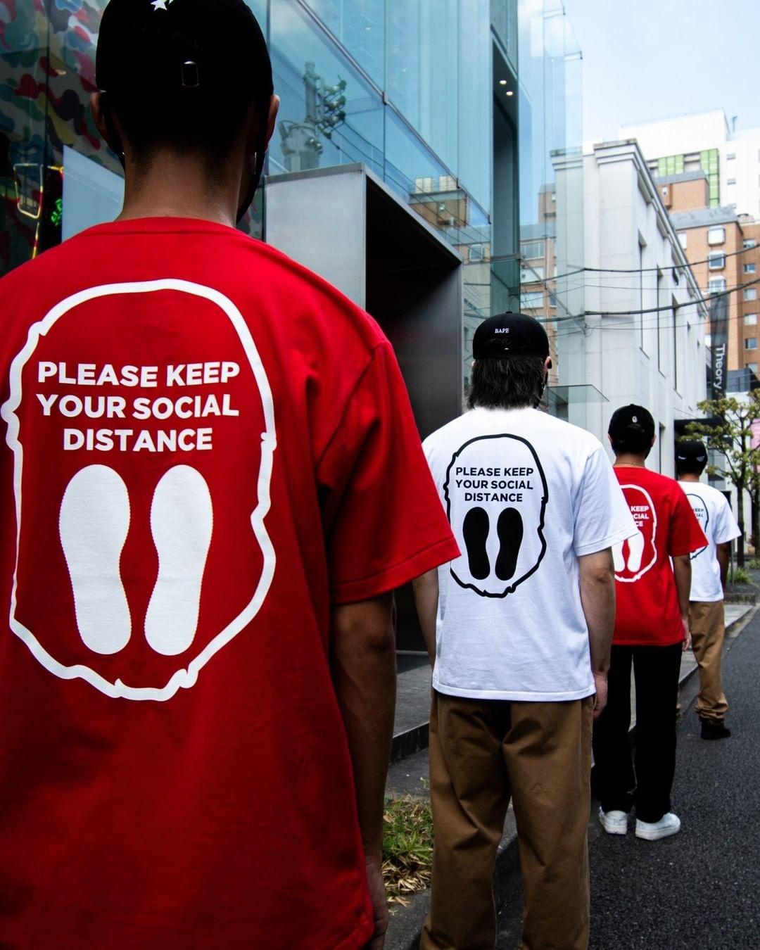 BAPE social distance