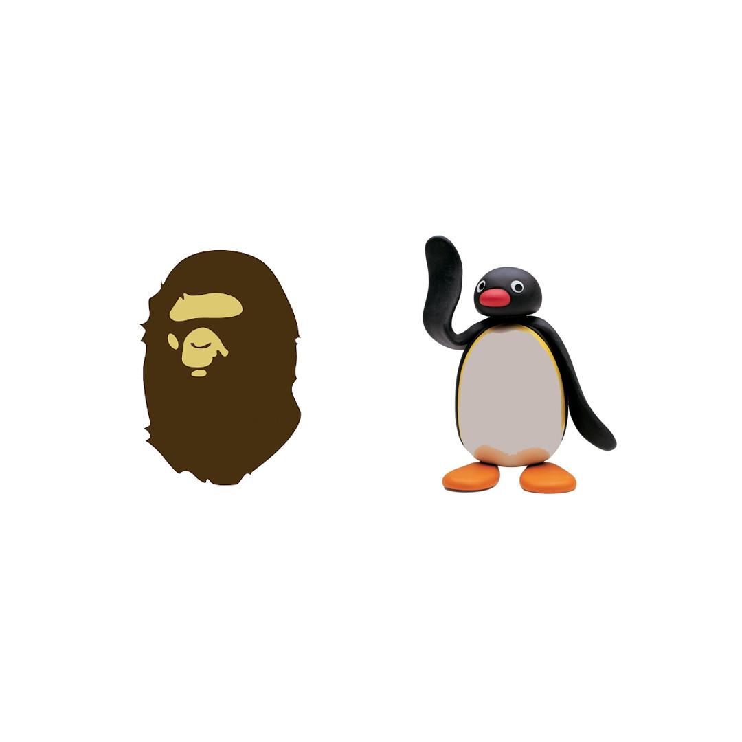 BAPE x Pingu
