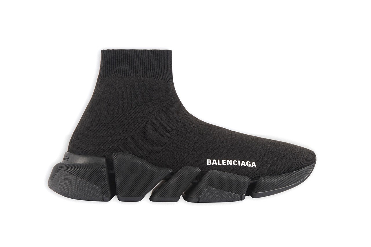 Balenciaga Speed Trainer 2.0 sneaker calzino tutta nera