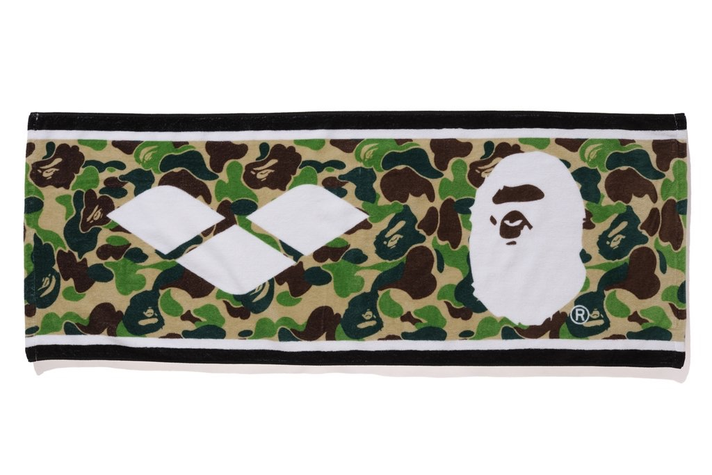 Ascigamano Mare Camouflage Bape x Arena Towel