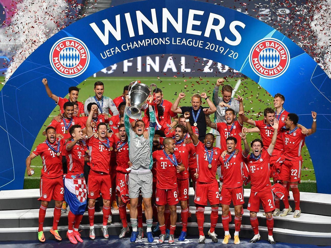 Bayern Monaco Champions League premiazione 2020